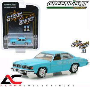 GREENLIGHT 44830B 1:64 1977 PONTIAC LEMANS SMOKEY & BANDIT WEDDING CAR