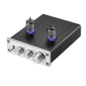 Nobsound HiFi 6J2 Vacuum Tube Preamplifier Stereo PreAmp Digital Treble&Bass