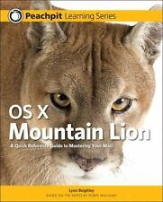 OS X Mountain Lion: Peachpit Learning Series by Lynn Beighley