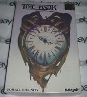100% COMPLETE Commodore Amiga TIME and MAGIK Big Box Game 1988 Datasoft magic 88