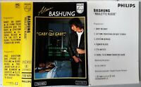 Alain Bashung cassette K7 tape Roulette Russe 7102 825 gaby oh gaby
