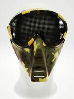 Masque Total Visage et Yeux Réglable Camouflage