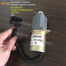 SA-4754-24 Shutoff Solenoid SA-3665-24 1753ES-24A6UC3B1S1 ZSF-3C 24V for Cummins