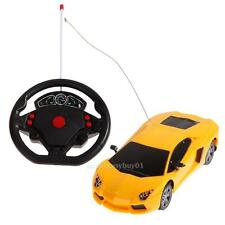 1/24 Drift Speed Radio Steering Wheel Remote Control RC Racing Car+LEDLight Toy
