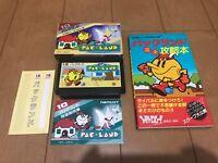 PAC LAND BOX and Manual & GuideBook Famicom  Japan NES Nintendo 083