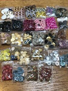 Job Lot of Buttons - Mixture of Vintage and Modern