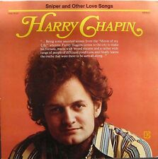 "HARRY CHAPIN ""SNIPER & OTHER LOVE SONGS"" LP -1972 - ELEKTRA EKS-75042 NM"