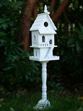 Two-Story Victorian -Style Pedestal Bird House