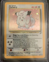 2000 Pokemon Base Set 2 Clefairy 6/130 Holo Foil Rare - (NM/M)