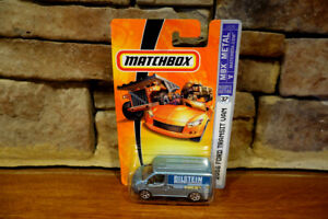 NIB 2006 Matchbox MBX Metal Die Cast 2006 Ford Bilstein Transit Van #37 J2370