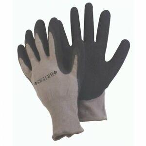 Large Briers Grey Dura-Grip General Worker Water Resistant Gardening Gloves