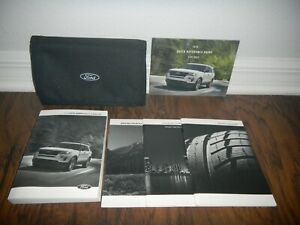 2018 FORD EXPLORER XLT LIMITED PLATINUM OWNER MANUAL SET WITH CASE FREE SHIPPING