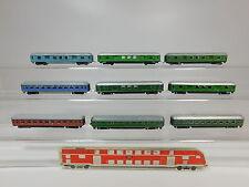 AQ942-1# 9x Schiebetrix/Minitrix Spur N Bastler-Wagen: 862 (?)+865 (?) etc