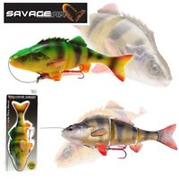 Savage Gear Fishing Lures NEW 4D Line Thru Perch Ready To Fish Predator Pike UL