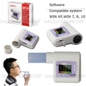 CONTEC SP10 Digitale Spirometer   Diagnostic Vitalograph Spirometrie