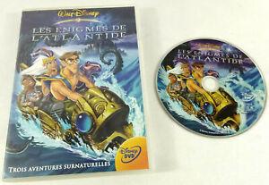 DVD Disney VF   Les Enigmes de l Atlantide    Envoi rapide et suivi