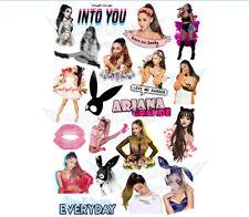 Ariana Grande Scream Queens Sweetener Dangerous Woman A4 stickers set decals