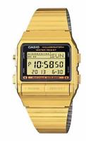 Casio Watch Retro Original DB380G-1 Multi Functions+Casio Envelop Gold Data Bank