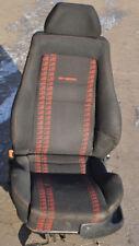 VW Golf 3 GTI Edition Recaro Sitz Schwarz Rot vorne Links Fahrersitz #DHL