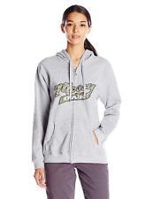Mossy Oak Women's Full Zip Hoodie, Sport Grey, XX-Large