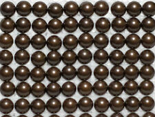 """100  Antique Brass Finish Dome Head Decorative Upholstery Tacks 7/16"""" Free Ship"""