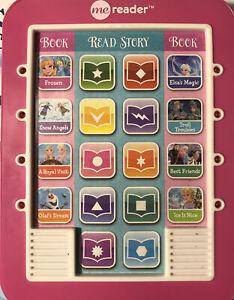 Disney Story Reader Me Reader Complete 8 Book Set with Working MeReader Included