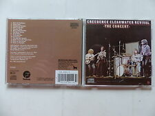 CD Album CREEDENCE CLEARWATER REVIVAL The concert FCD-4501-2