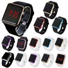 Orologio Digitale da polso Cinturino Silicone Uomo Donna Unisex Watch Sport