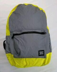 Herschel Supply High Vis Reflective Packable Daypack Neon Yellow 24.5L Backpack
