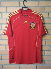 Spain Home football shirt 2008 - 2009 size M soccer jersey Adidas