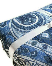 Pottery Barn Multi Colors Billie Paisley Floral Cotton Full Queen Quilt New