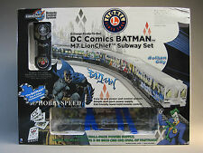 LIONEL DC COMICS BATMAN LIONCHIEF M7 SUBWAY SET o gauge train track RC 6-81475