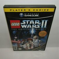 LEGO Star Wars II: The Original Trilogy (Nintendo GameCube, 2006) Complete Works