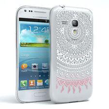 Custodia per Samsung Galaxy s3 Mini Cover di protezione case per Cellulare Motivo Bianco/Rosa