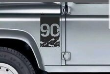 LAND ROVER DEFENDER 90 DECAL Wing  Fender Sticker Adventure Expedition 4x4 Tdi