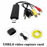 USB 2.0 Audio TV Video VHS to PC DVD VCR Converter Capture Adapter Card NEW O3A1