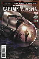 Star Wars Comic 3 The Last Jedi Captain Phasma Cover A First Print 2017 Marvel