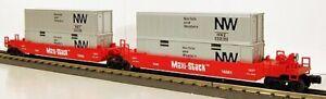 O Scale - Lionel 6-16360 Norfolk & Western 2-Car Maxi-Stack 16361 & 16362 O2486