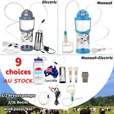 2L/3L Pump No/Pulse Portable Electric Milking Machine Vacuum Pump Milker    *+