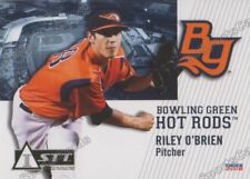 2018 Bowling Green Hot Rods Riley O'Brien RC Rookie Tampa Bay Rays Minor