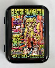 JOHNNY ACE STUDIOS FRANKENSTEINS MONSTER HORROR LOWBROW HINGED TOBACCO TIN MINTS