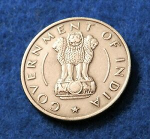 1956 India 1/2 Rupee - Nice Coin - See Pictures