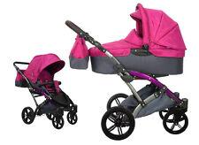 Knorr Baby Voletto Sport pink 2in1 Kombi-Kinderwagen 3100-02 RL NEU