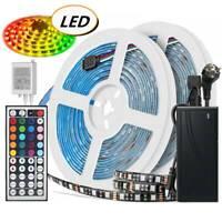 1-20M Wasserdicht LED RGB Stripe Streifenlicht Schwarz PCB 5050 SMD Lichtband