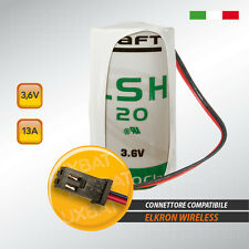 ELKRON LSH20 3,6V 13Ah Batteria al Litio SAFT