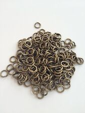 New! 1000 pcs Antique Bronze Open Jump Rings 5mm Jewelry Item #21B Findings