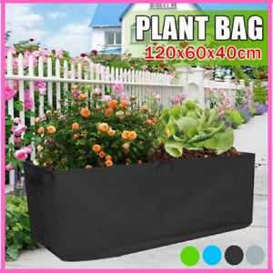 Grow Bag Garden Bed Anti Corrosion Outdoor Vegetable Planter Non Woven Fabric