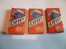 3 anciens paquets blades,lames de rasoir DHP mince locomotive à vapeur SNCF