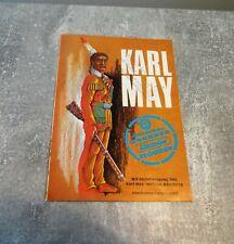 Karl May Hausser Elastolin Figuren originaler Katalog, Rarität, top Zustand