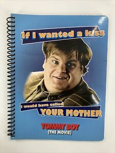 Tommy Boy 1 Subject Notebook, College Ruled Sheets, Chris Farley